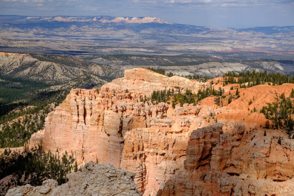 View from Rainbow Point in Bryce Canyon