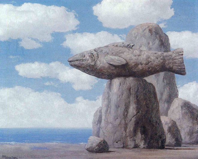 Rene Magritte, The connivance, 1965