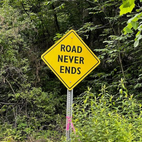 Road never ends