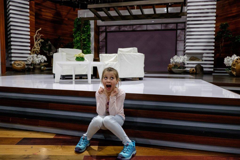 The stage of The Ellen DeGeneres Show
