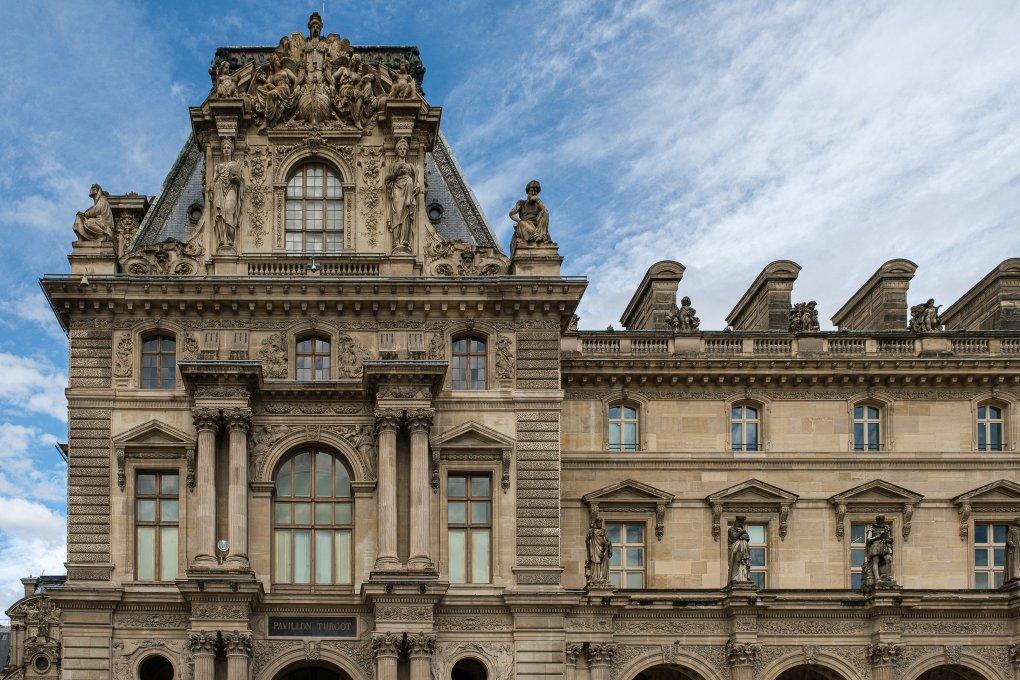 Pavillon Turgot at Louvre