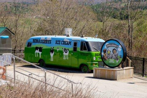 Ben & Jerry's ice cream truck